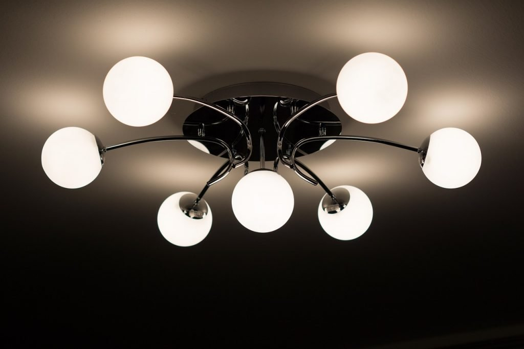 ceiling lamp, lamp, chandelier